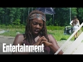 The Walking Dead's Danai Gurira On Her Best Day On Set | Entertainment Weekly