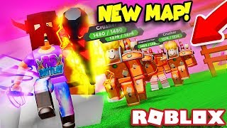 DEFEATING CANDY LAND in Roblox Treasure Quest!