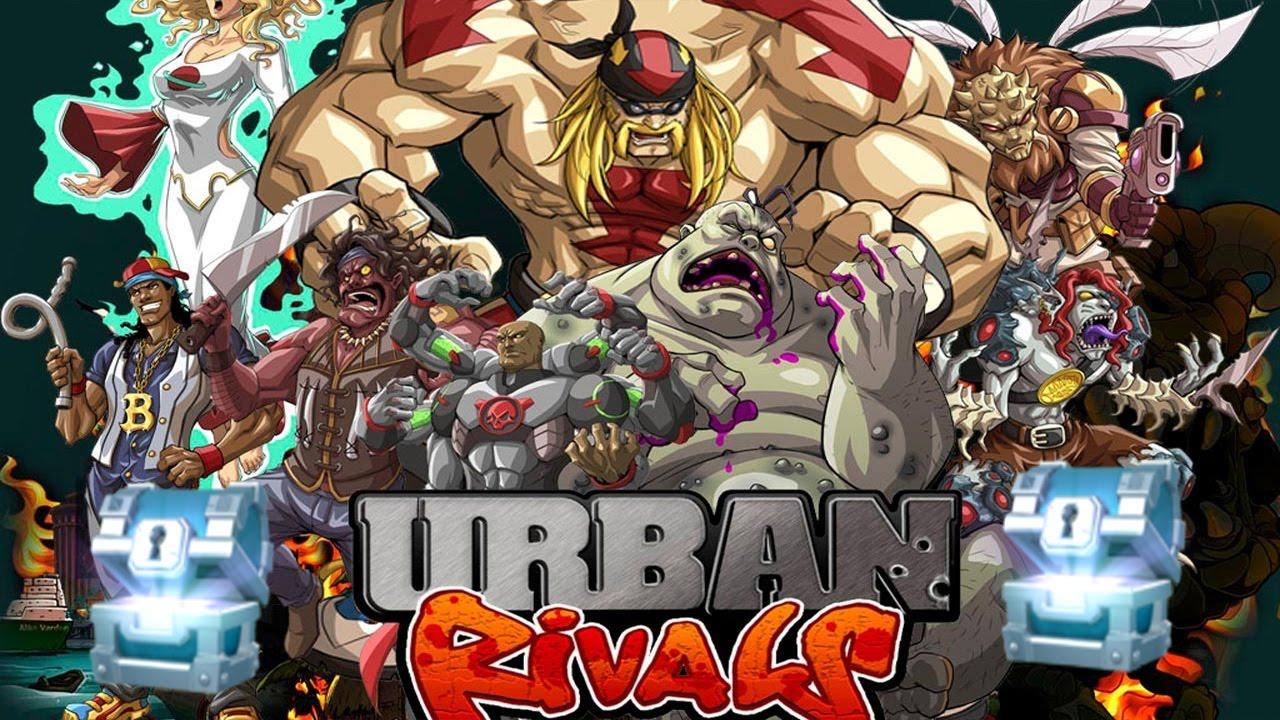 urban rivals agrega los cofres diarios al estilo de clash royale juego gratuito