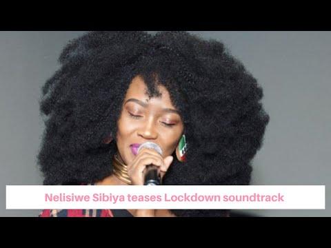 Nelisiwe Sibiya teases the upcoming Lockdown soundtrack #1