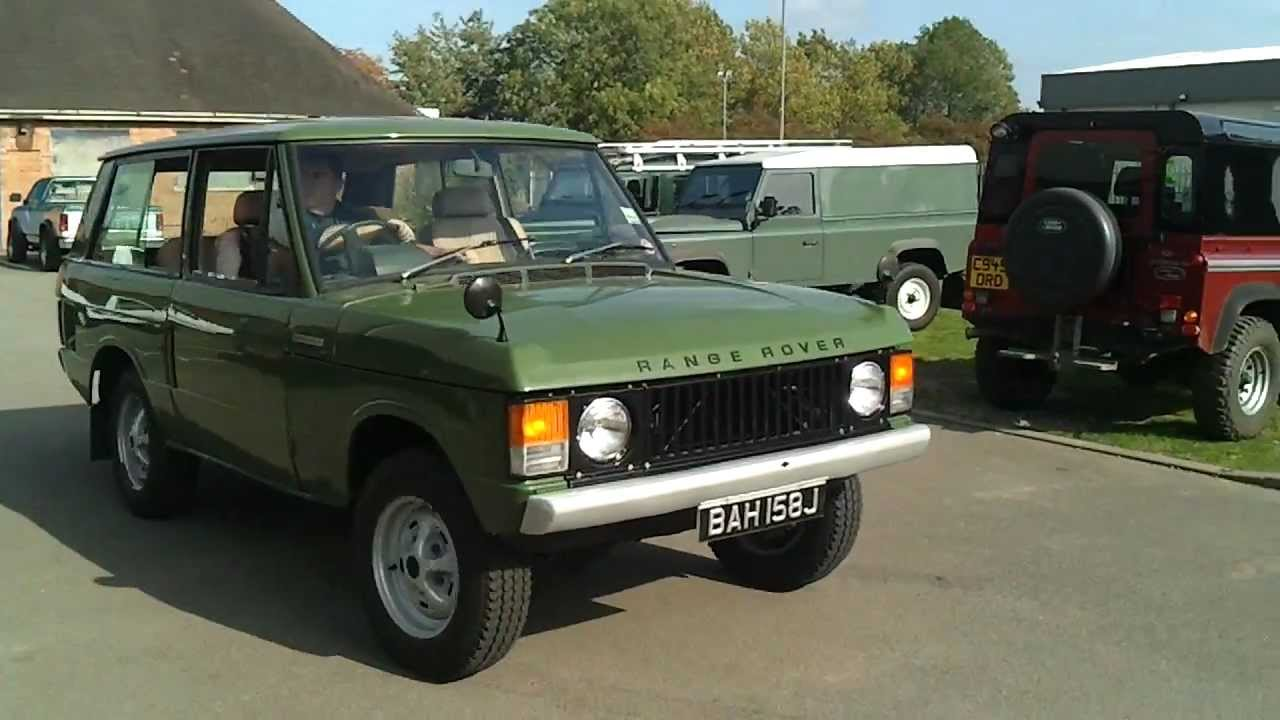 1972 2 Door Range Rover Classic Youtube