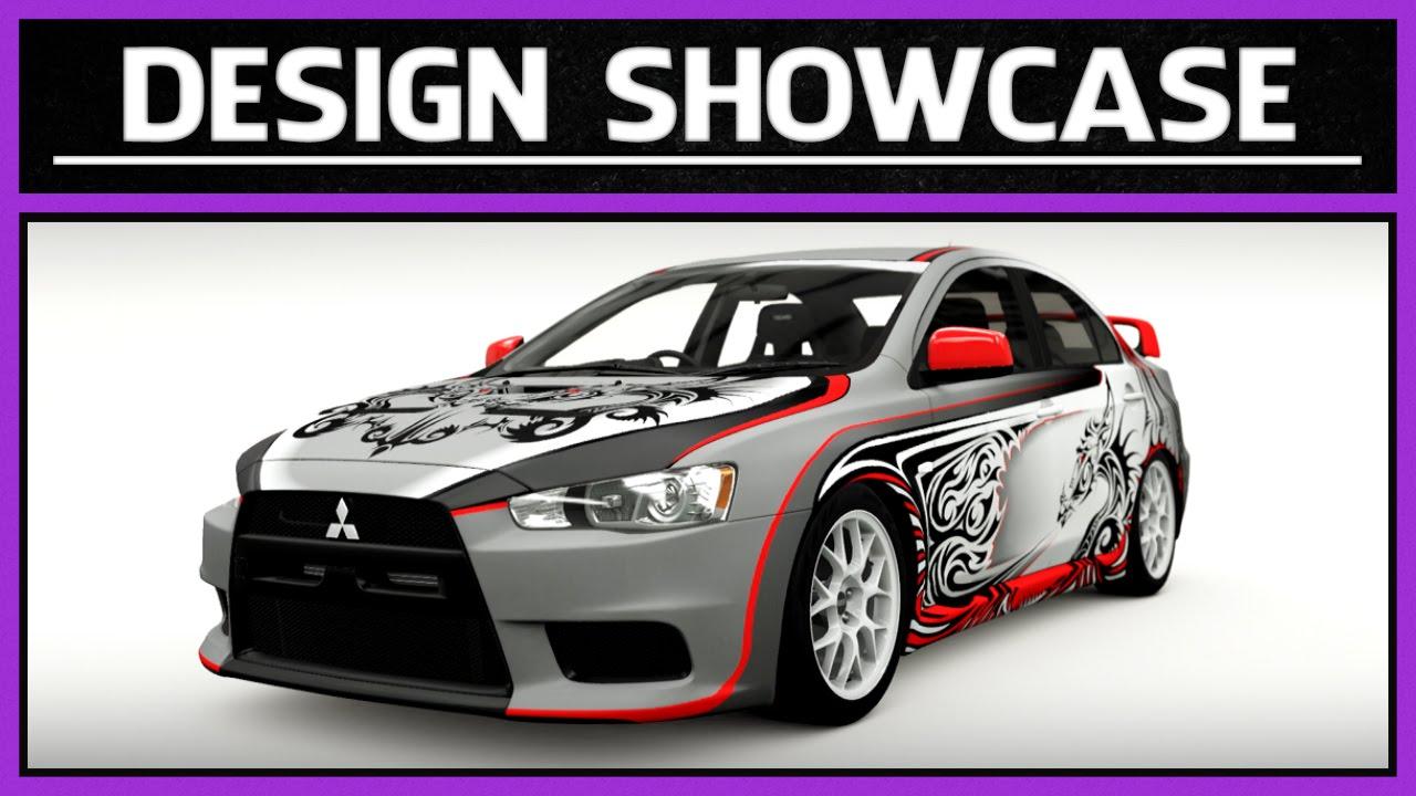 Forza Horizon 2   Design Showcase   2008 Mitsubishi Lancer Evolution X GSR