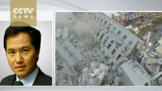 Building collapses in south Taiwan