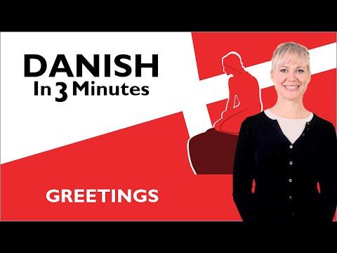 Learn Danish - Greetings