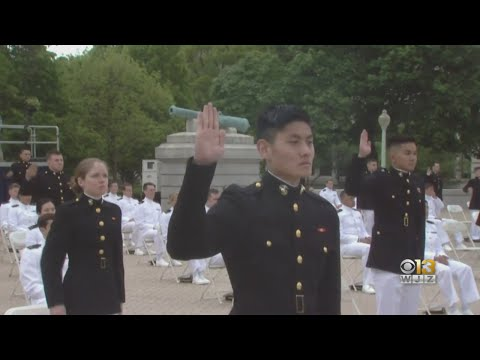 USNA Holds Class Of 2020 Commencement Virtually