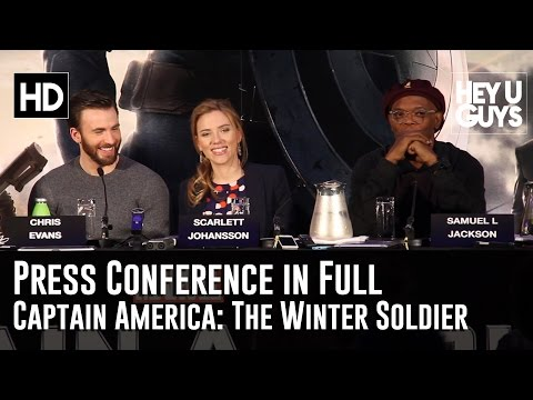 Captain America The Winter Soldier Press Conference in Full