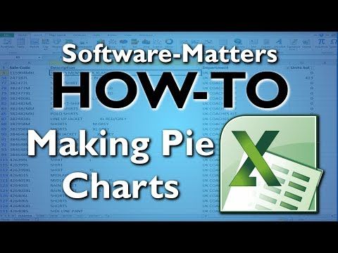 How to make Pie Charts - Microsoft Excel Tutorial