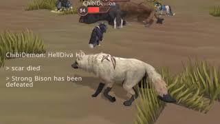 Killing Strong Bison Boss - WildCraft (+ImagineDragons Music)
