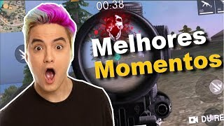 FELIPE NETO PLAYING FREEFIRE PUBG and FORTNITE-BEST MOMENTS