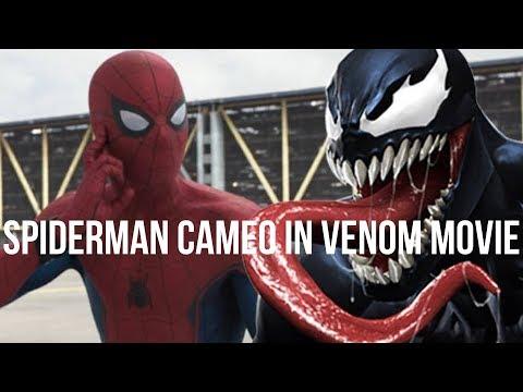 SPIDERMAN CAMEO IN VENOM MOVIE