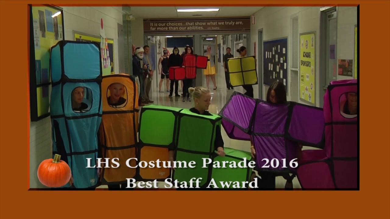 2016 best staff costume award tetris youtube
