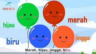 """Lagu kanak kanak Best! """"Mengenal Warna"""" (Colors Song in Bahasa Malaysia)"""