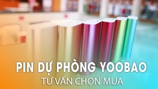 Pin dự phòng Yoobao phụ kiện đáng mua cho Smartphone