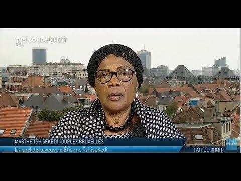 RDC : L'appel de Marthe Tshisekedi, la veuve d'Etienne Tshisekedi sur TV5MONDE