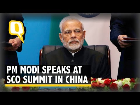 PM Modi Addresses World Leaders at the SCO Summit in Qingdao