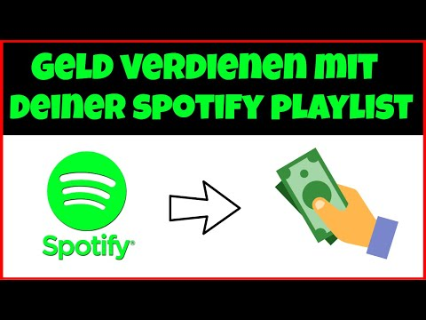 Geld Verdienen Mit Deiner Spotify Playlist 🤑🎧