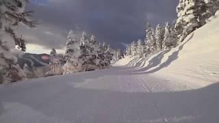2018年1月1日志賀高原焼額山スキー場ファーストトラック
