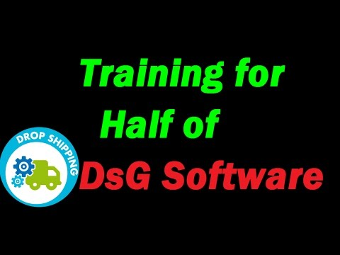 Drop Shipping on eBay with DsGenie Software - DsGenie Software Walk Through