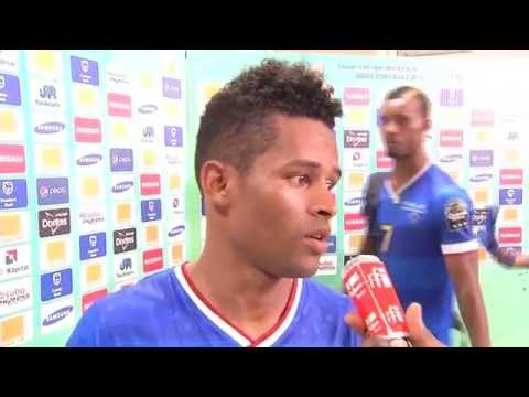 Post-match Interviews: Cape Verde players - Orange Africa Cup of Nations, EQUATORIAL GUINEA 2015