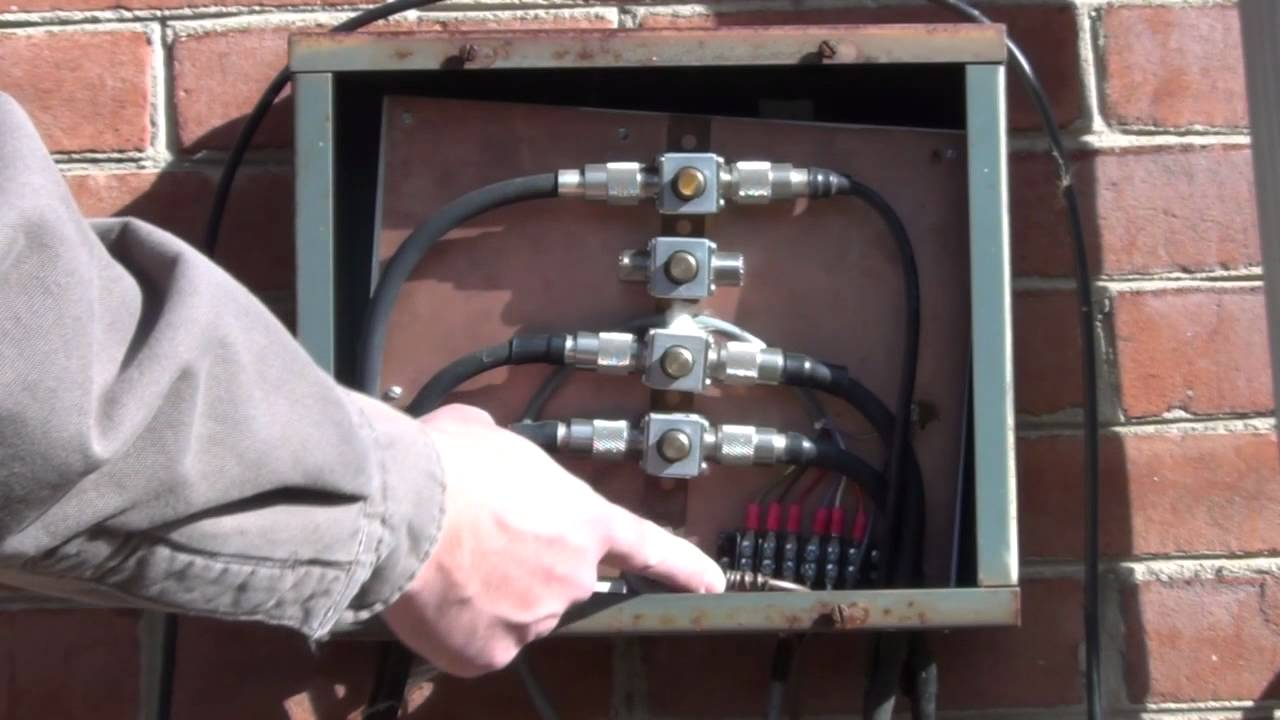 Ham Radio Station Grounding Lightning Protection Youtube