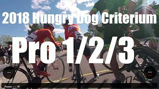 CRIT RACING WITH A WORLD CHAMPION│2018 Hungry Dog Pro 1/2/3 Criterium