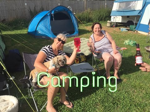 CAMPING in a tent DAY 1 #veda 2016