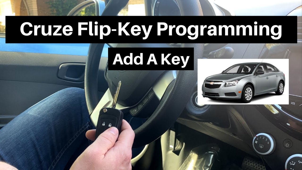 How To Program A Chevy Cruze Flip Key Remote Fob 2011 2015 Diy