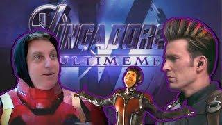 Vingadores: Os Últimos MEMES   Trailer Paródia