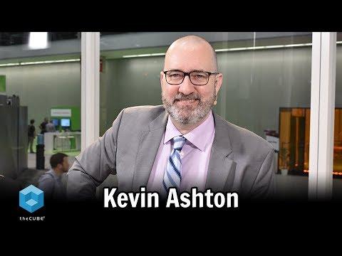 Kevin Ashton, Author | PTC LiveWorx 2018