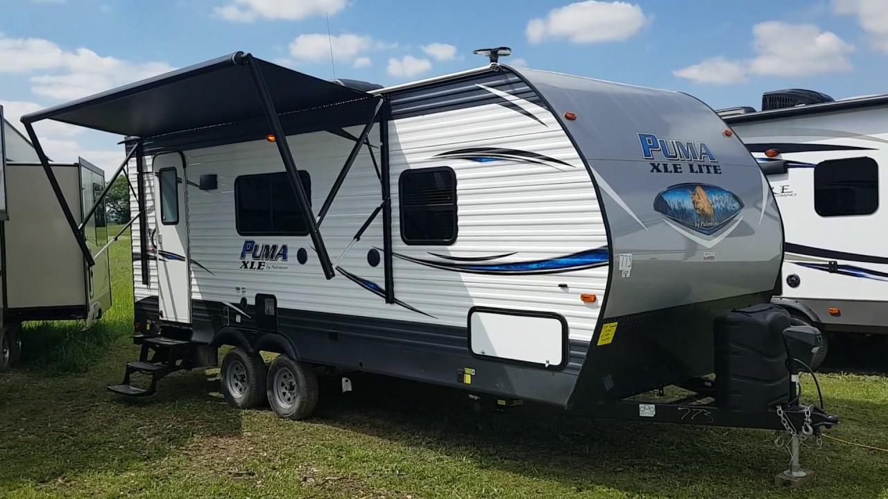 2019 Puma XLE 21FBC Ultra Lite Travel Trailer @ Camp-Out ...