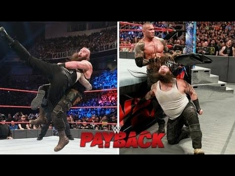 WWE Payback Highlights 4/30/17 – WWE Payback Highlights 30th April 2017
