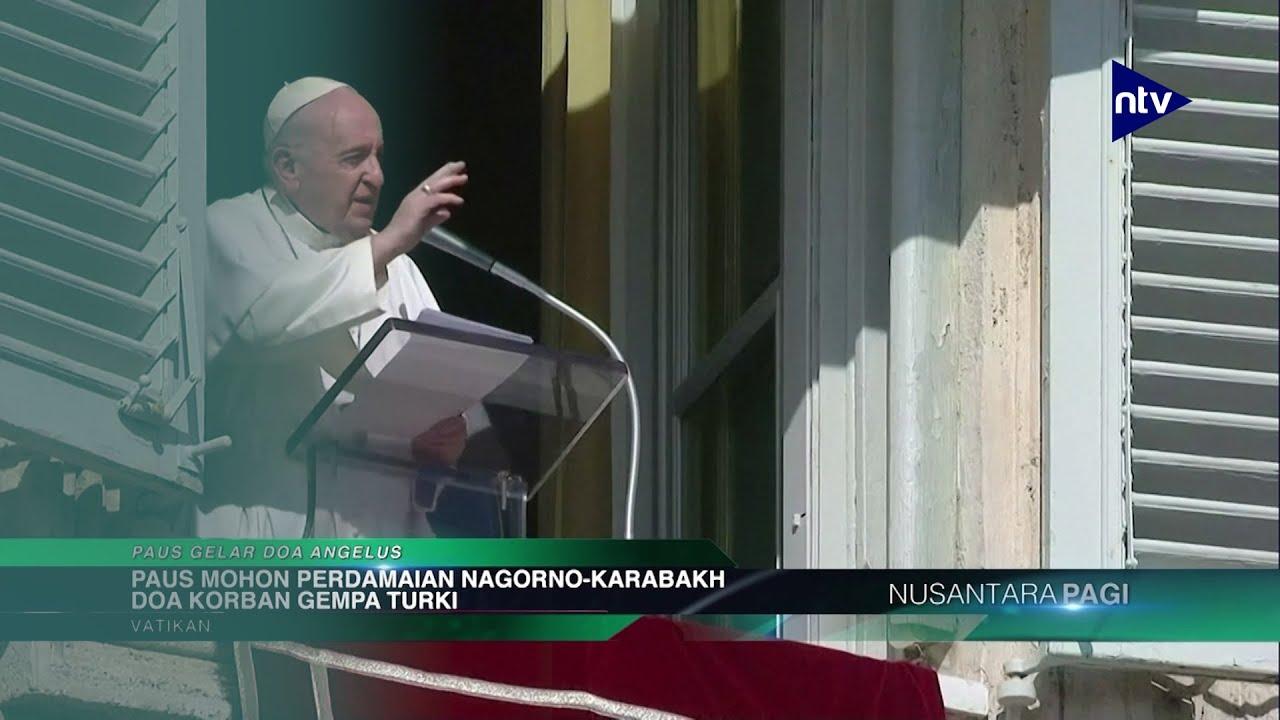 Paus Berdoa Untuk Korban Gempa Turki dan Perdamaian di Nagorno-Karabakh