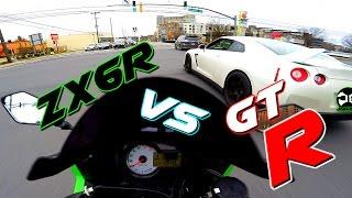 ZX6R vs Nissan GTR... / Mini JOE #3