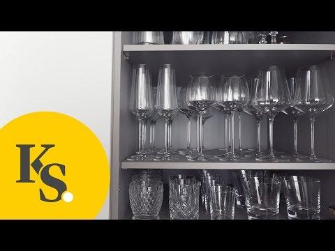 Küchenorganisation leicht gemacht: Geschirr & Gläser   Tipps & Tricks