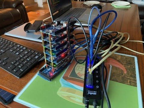 DIY Arduino Crypto Mining Tower