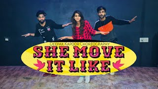 She Move It Like - DANCE COVER | BADSHAH | DEEPAK KAPOOR