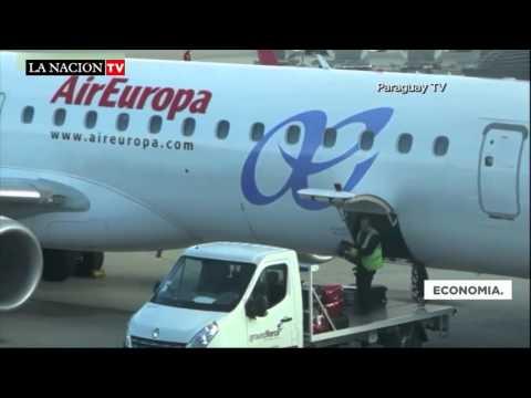 Air Europa duplicará sus vuelos entre Asunción y Madrid.