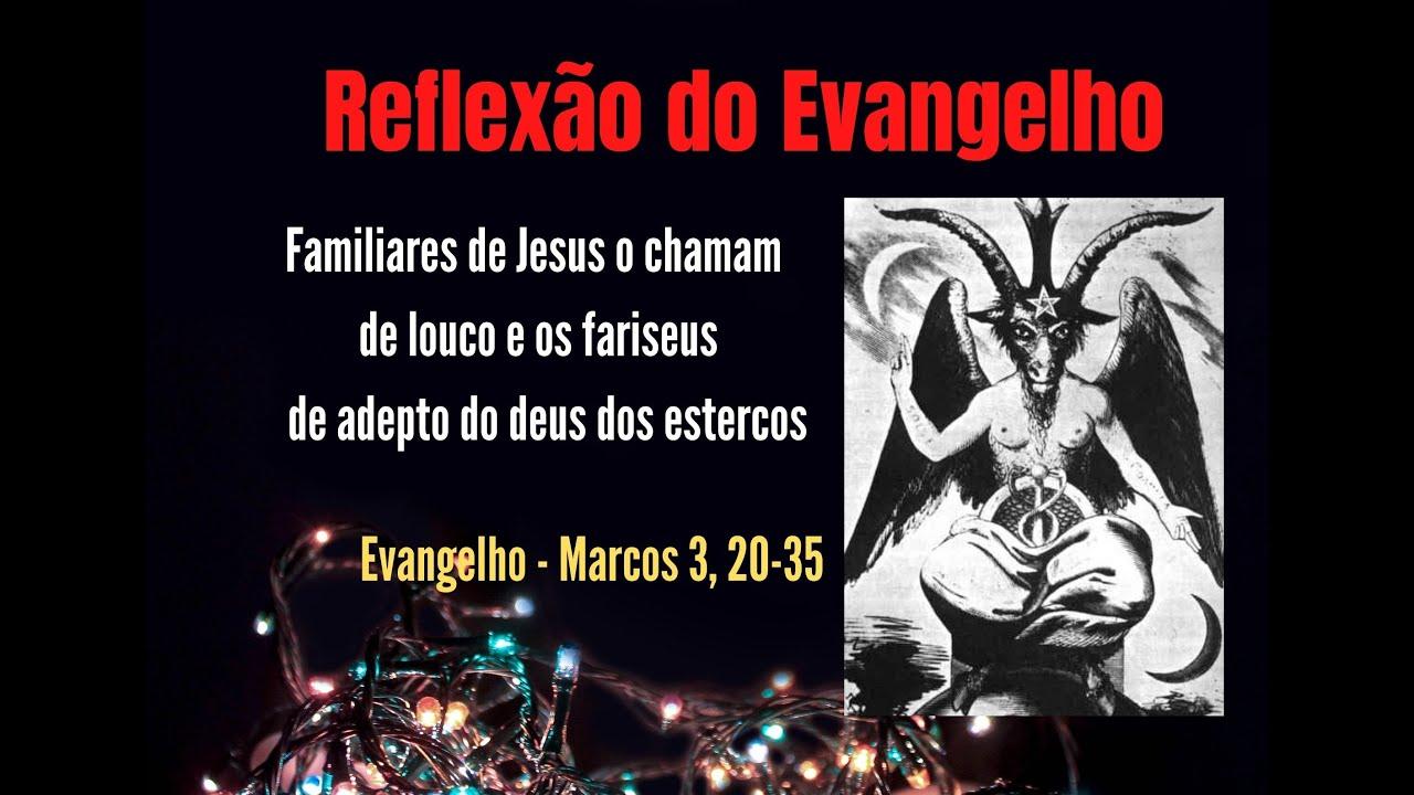 """RE: """"Familiares de Jesus o chamam de louco e os fariseus de adepto do deus dos estercos"""""""