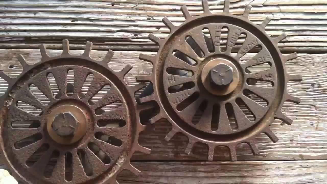 Antique Industrial Gear Wall Art Decor