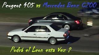 Peugeot 405 vs Mercedes Benz C200 Kompressor - Clase 2
