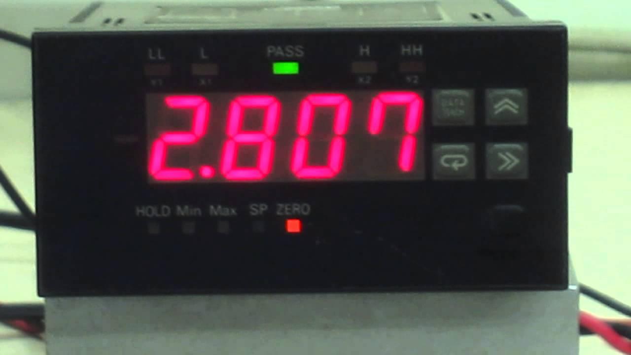 Omron Digital Panel Meter : Omron k tx vd a c digital panel meter 動作確認 youtube