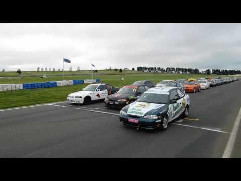 Wakefield Park Raceway 2016 - Start from grid line up
