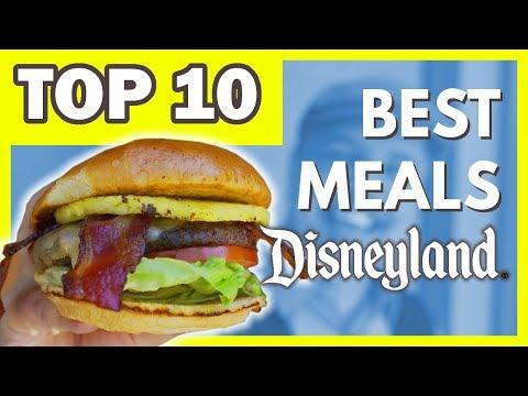 Top 10 Best Meals At Disneyland   2019