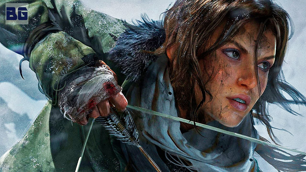Rise Of The Tomb Raider O Filme Dublado Youtube