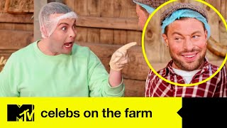 Duncan James And Cheryl Hole Have A Trash-Talk Battle In Baking Head-To-Head | Celebs On The Farm