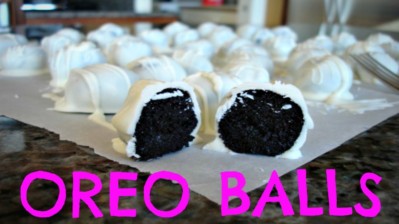 Oreo Balls No Bake Cooking With The Gals Youtube