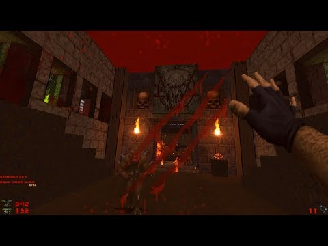 Whispers of Satan | Level 15: Temple of Water [Brutal Doom: Black Edition v3.1d Final]