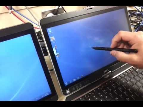 dell latitude xt3 tablet side by side example of good and bad stylus digitizer follow up youtube. Black Bedroom Furniture Sets. Home Design Ideas