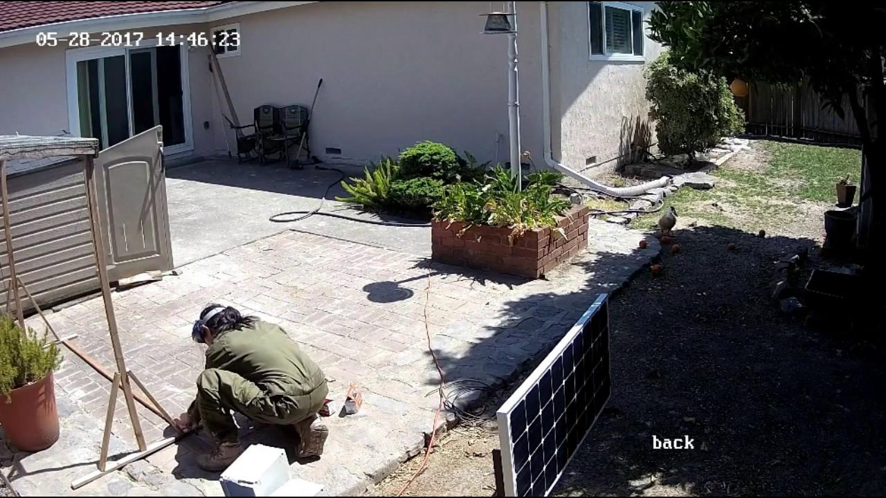 backyard hookup