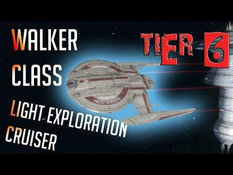 Walker-class Light Exploration Cruiser [T6] – with all ship visuals - Star Trek Online
